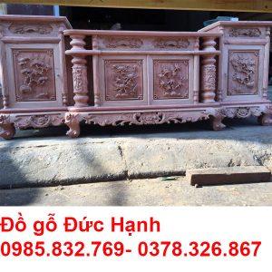 Kệ Cột Nho Hương đá đục Kênh Bong K13